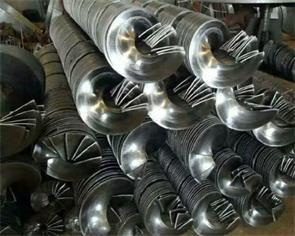 绞龙螺旋叶片的哪些长处促使它遭到广泛的使用 
