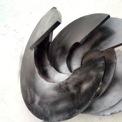 关于螺旋叶片的左右旋的问题。