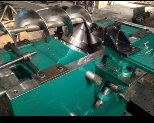 螺旋叶片冷轧机生产